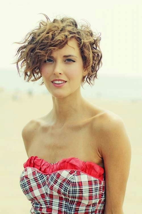 Phenomenal The Best Funky Short Curly Hairstyles For Girls Hairstyles For Men Maxibearus