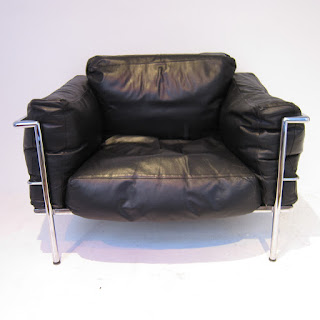 Vintage Le Corbusier LC3 Style Chair #1