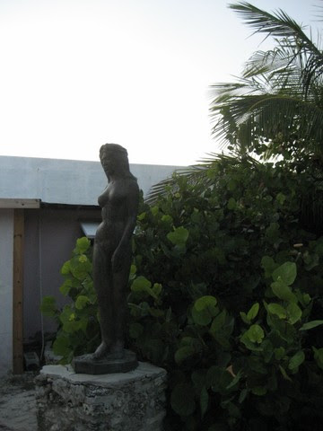 As with Bobby Little's mermaids, no male sculptor's oeuvre is complete without naked ladies!