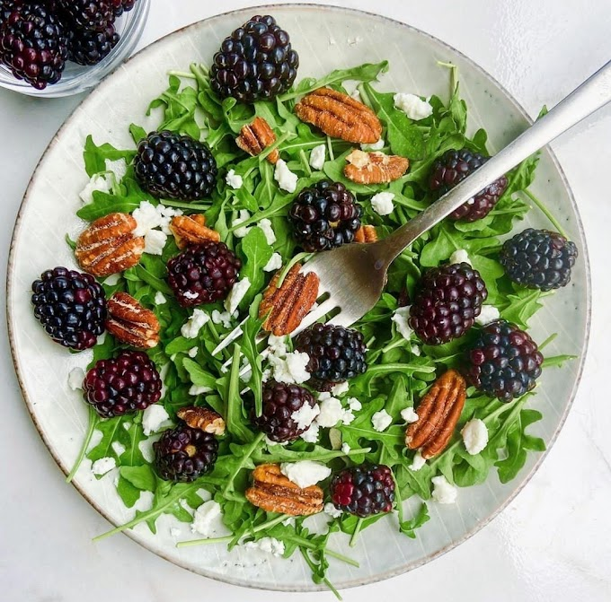 Blackberry Salad Recipe | Breakfast Care
