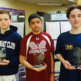 BU 15: 3rd place - Myles McIntyre (Andover, MA); Finalist - Hari Narayanan (Newton, MA); Champion - Joey Raskin Lantos (Cambridge, MA)