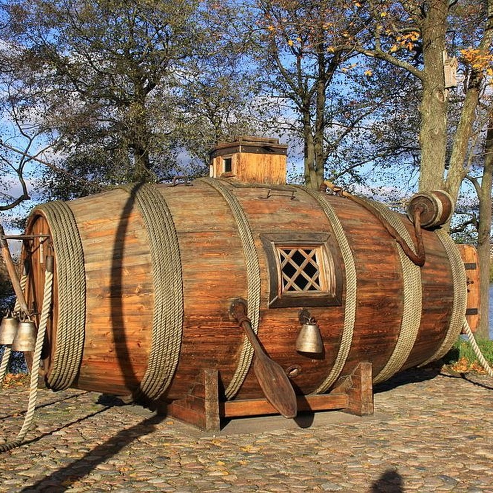 This Wooden Barrel Was The World's First Military Submarine