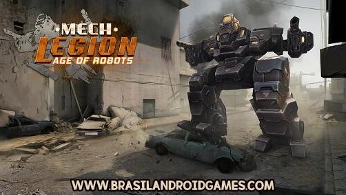 Mech Legion: Age of Robots Imagem do Jogo