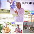 VAKSINASI di Kab Humbahas Di Bulan FEBRUARI 2021 Sebanyak 880 ORANG Tenaga medis dan 10 orang pejabat publik