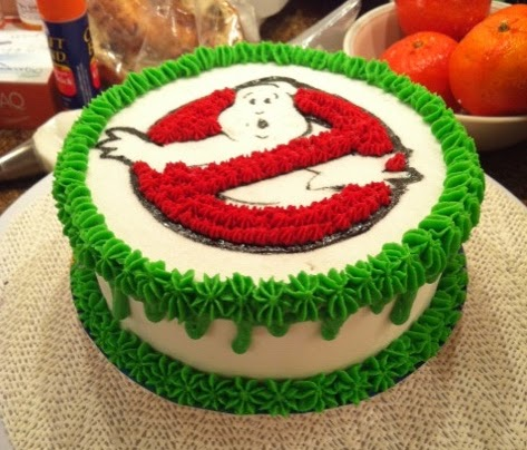 Ghostbusters Cake Decorations