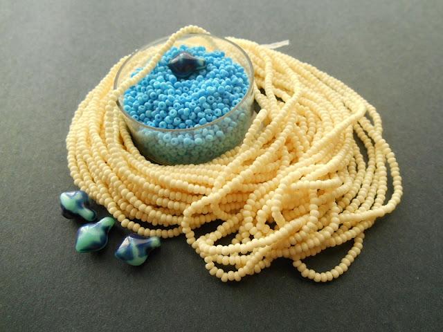 Delft Blue Bead Color Idea