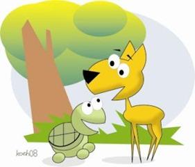 Cerita Fabel Binatang Kelinci Kura Kura Kumpulan Cerita Info Ibu