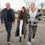 OIC - ENTSIMAGES.COM - Ocean Club Ibiza owner Wayne Lineker spotted with MTV Artist /Producer Damon Hess and X Factors Lydia Lucy  in Chigwell Essex - Looks like an Ibiza music collaboration is def on the cards   Photo Mobis Photos/OIC 0203 174 1069