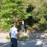 Καθαρισμός οδικού δικτύου Καλογήρων - Αγ. Προκοπίου