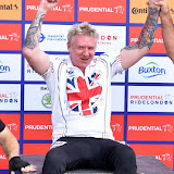 OIC - ENTSIMAGES.COM - Hand Cyclist Winner 1st place Jonanthan Walters  at the Prudential RideLondon Grand Prix 2016    in London  29th July 2016 Photo Mobis Photos/OIC 0203 174 1069