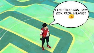 muncul duduk perkara gres yang menciptakan geger para pemain Pokemon Go Pokestop dan Gym Hilang Saat Bermain Pokemon Go