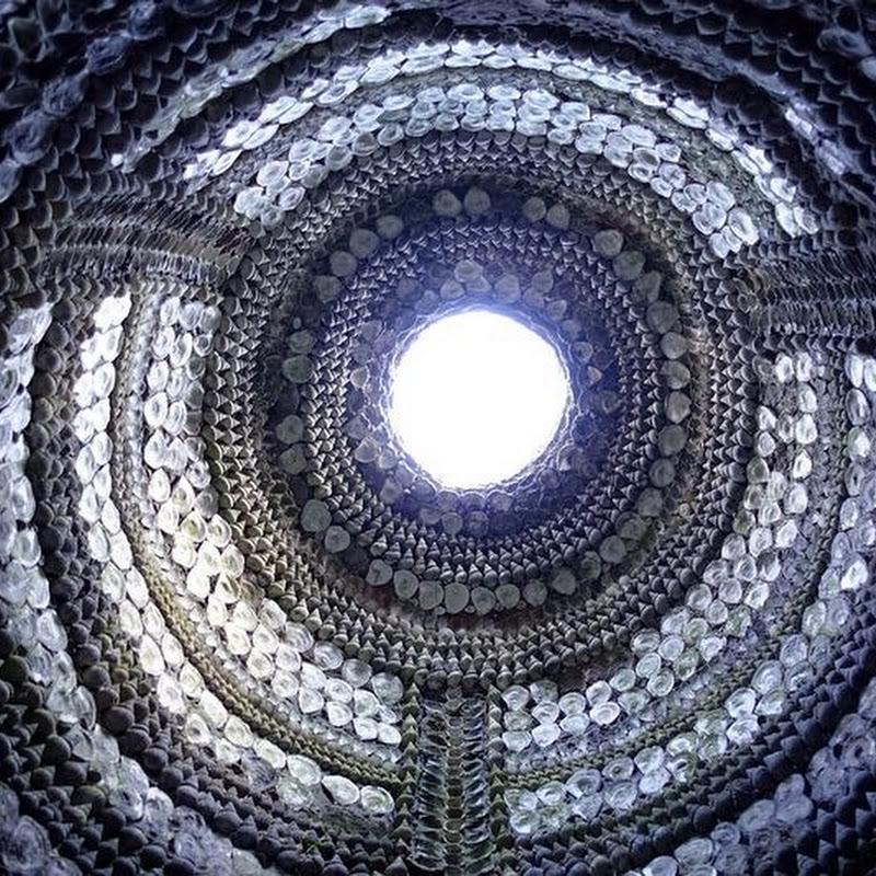 The Mysterious Shell Grotto in Margate