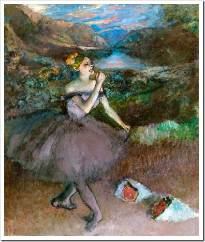 degas painting at the national gallery of victoria