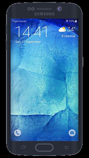 J7 Galaxy Lockscreen