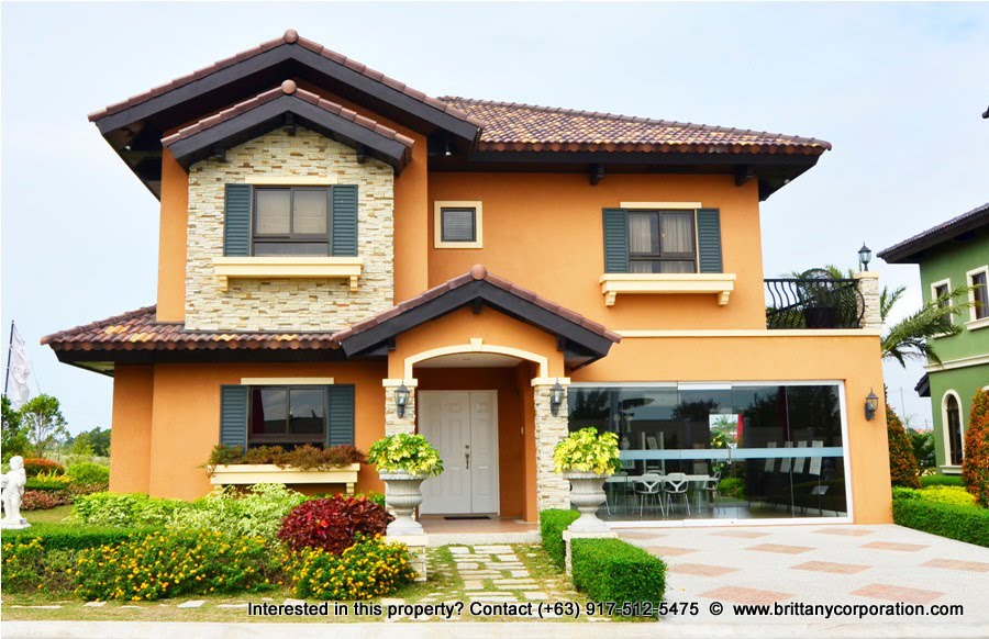 Antonello Model - Amore Portofino Luxury House for Sale in Exclusive Gated Community - Daang Reyna Las Pinas
