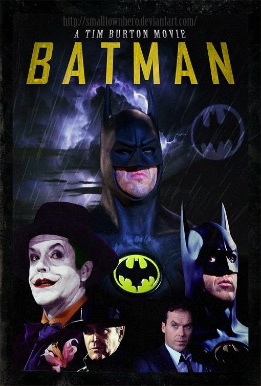 Poster Of Batman (1989) Full Movie Hindi Dubbed Free Download Watch Online At Alldownloads4u.Com