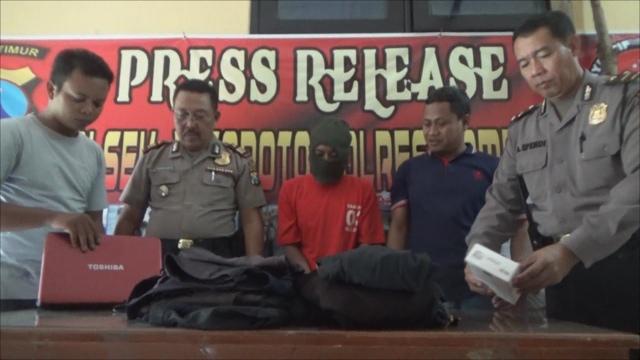 Maling Bugil di Jombang Ini Mengaku Tujuh Kali Mencuri di Satu TKP