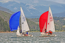 J/22 one-design sailboats- sailing Dillon Open Regatta
