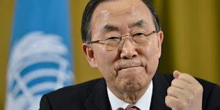 """Ban Ki-moon juge """"Inacceptable et scandaleux"""" les propos de Netanyahu sur le """"nettoyage ethnique""""."""