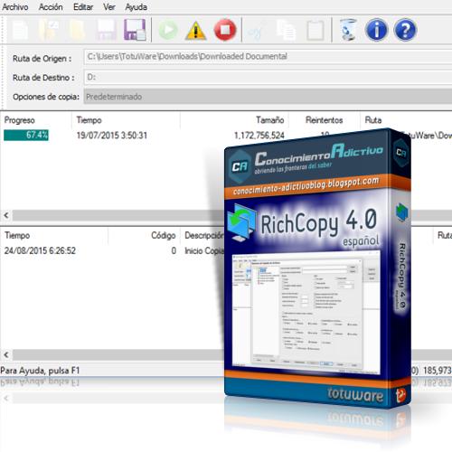 RichCopy 4.0 en Español