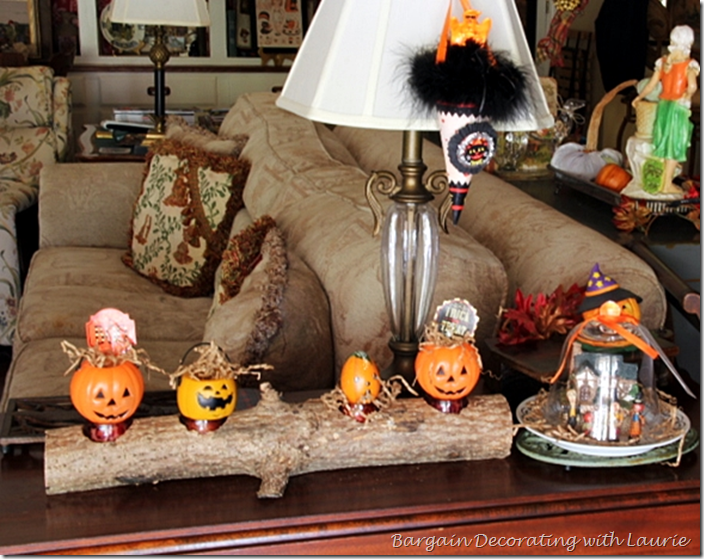 Halloween Vignete on Gateleg Table