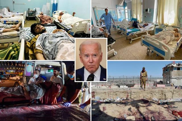 Trump y los políticos incendian a Biden por ataques terroristas mortales que dejaron 13 soldados estadounidenses muertos