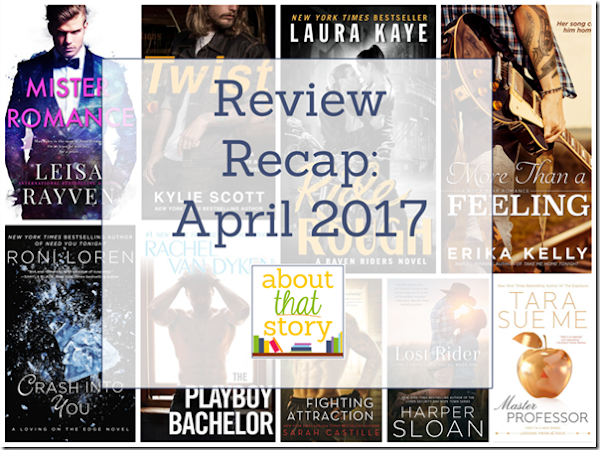 Review Recap: April 2017