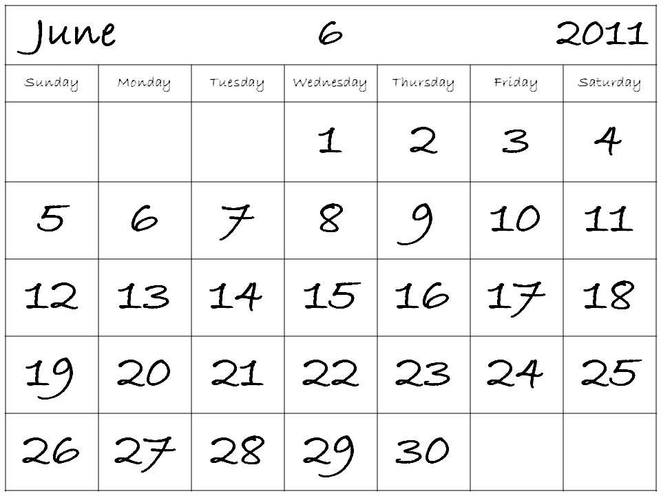 2011 calendar printable monthly. A free printable 2011 calendar