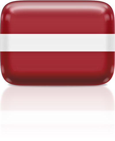 Latvian flag clipart rectangular