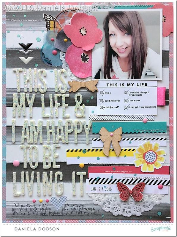 My life by Daniela Dobson