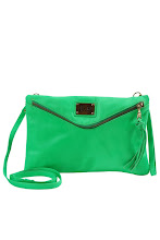 Photo: Pochette Fluo FAB ACCESSORIES, Cuir - Mode BE
