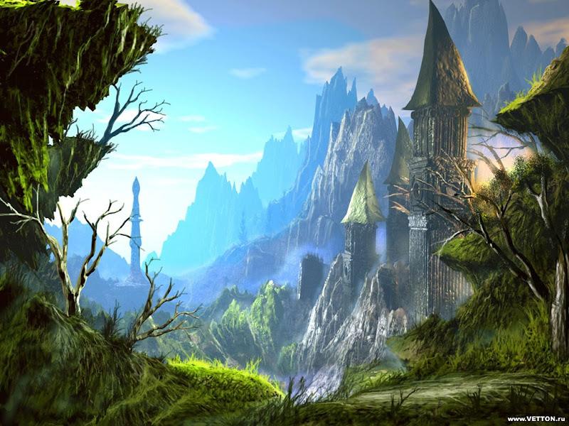 Dream Of Magick Landscape 7, Magical Landscapes 5