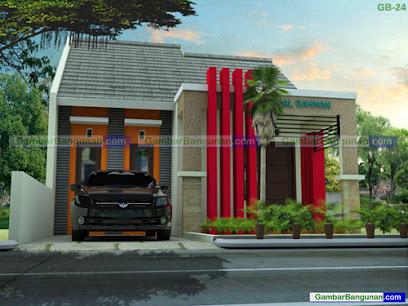 desain rumah tipe 45 minimalis