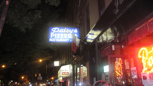 Our final destination was Patsy's in East Harlem. By this point it was already 7 pm and we were pizza'ed OUT.