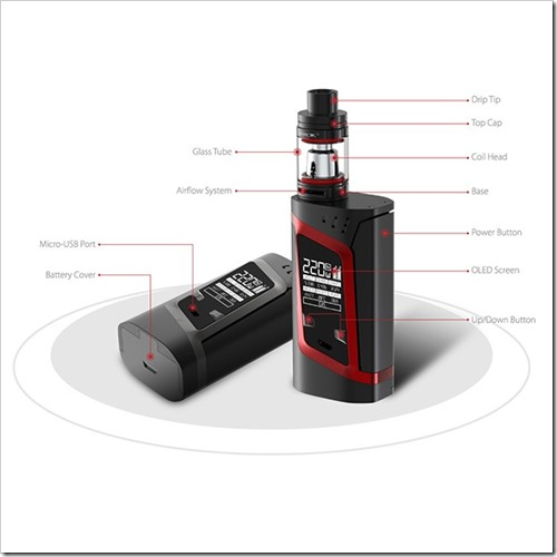 smok alien kit 1 5 - 【海外】「CoilArt AZEROTH RDTA - 24mm」「Vaporesso Tarot Pro TC 160W Box Mod」「Smok Alien 220W スターターキット」「IJOY Cigpet Ant TC 80w Box Mod」【Everzon新着】