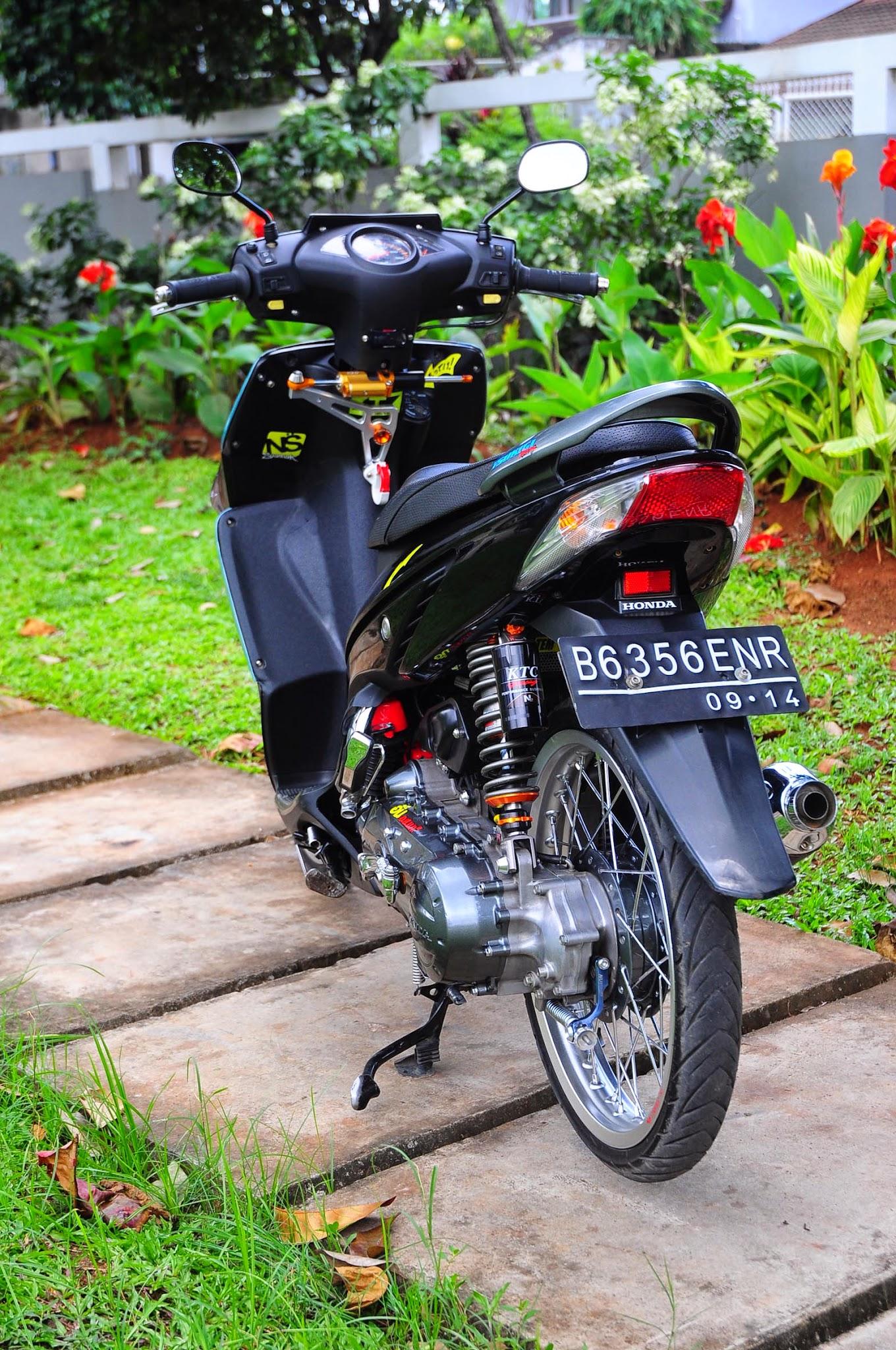 Honda Tiger Revo Modifikasi Jari Jari
