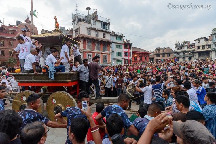 Kasthamandap, nepal, kumari, chariot