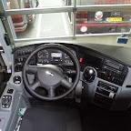Het dashboard van de Vanhool TX van Krol Reizen bus 51