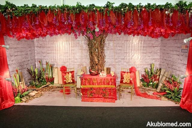 dekorasi majlis perkahwinan kaum cina