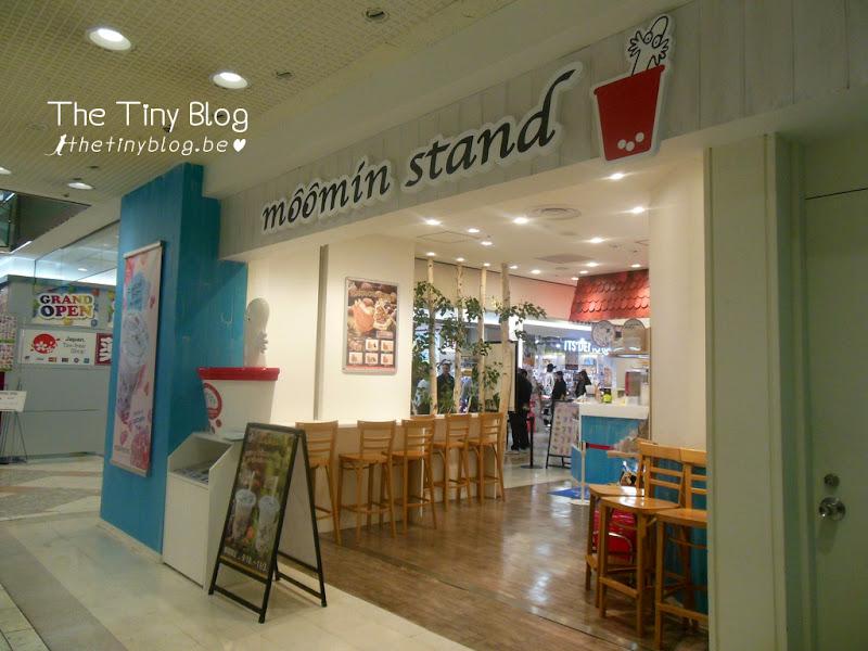 Moomin Café Stand Ikebukuro Sunshine City