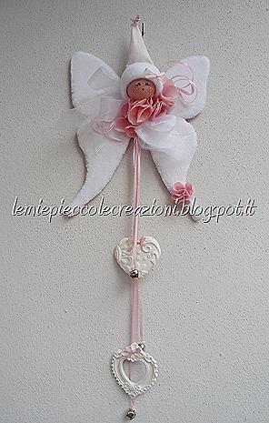 fiocco nascita fatina rosa