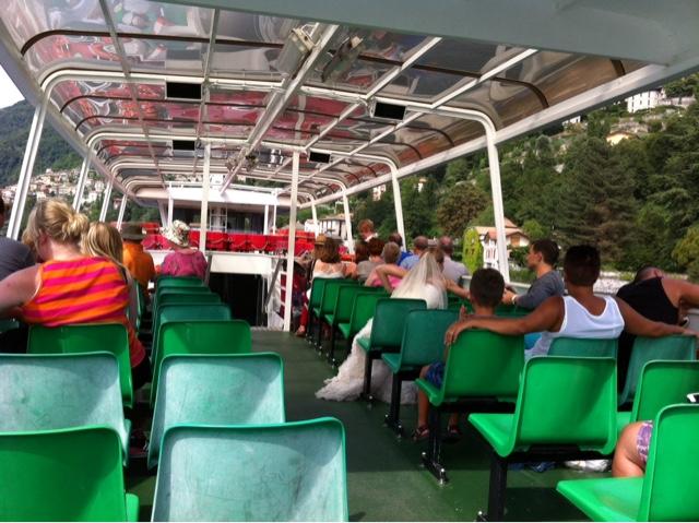 Como lake boat