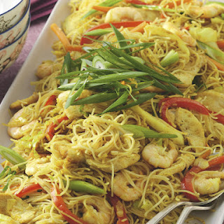 Curried Singapore Noodles.