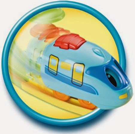 Tàu hỏa Pull & Go Train dễ dàng cho bé điều khiển