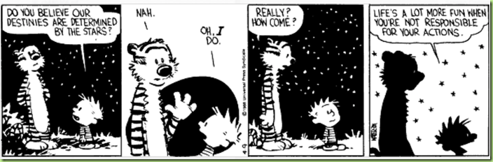 calvin not responsible