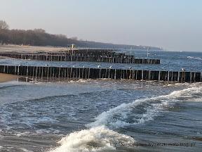 na zdjeciu plaża przy ARKA SPA Kołobrzeg
