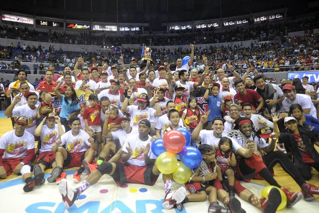 2015 PBA Governors' Cup Winner, San Miguel wins 21st  championship trophy