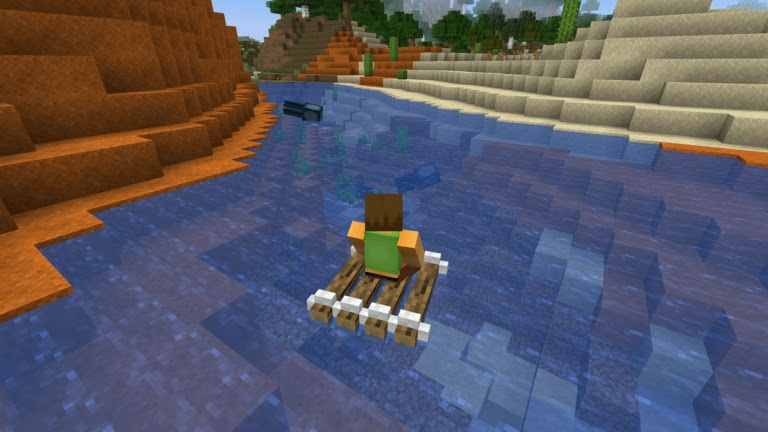 Minecraft Rafting Mod