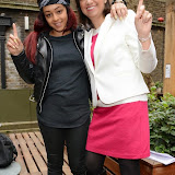 OIC - ENTSIMAGES.COM - Paigey Cakey and Seema Malhotra at the One Billion Rising For Justice Photo Call at The House of St Barnabas London 10th February 2015 Photo Mobis Photos/OIC 0203 174 1069