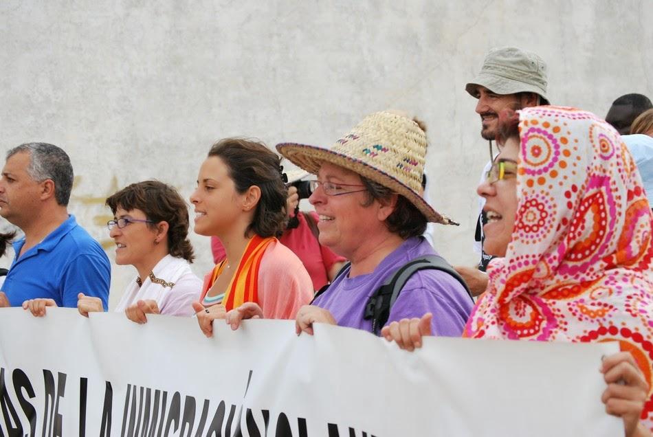 Caravana a la valla de Ceuta 23